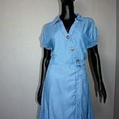 Качество! Стильное натуральное платье от Denim by F&F в новом состоянии