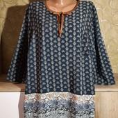 Собираем лоты!!! Блуза на пышную красу, размер 16