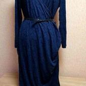 Оригинальное платье на запах