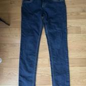 Стрейчевые джинсы с регулировкой пояска - идеальное состояние