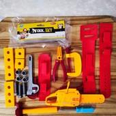 Детский набор инструментов Tool Set | Детские игрушки | Набор инструментов для мальчика |