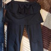 Джинсы и лосины - юбка одним лотом на 7-9 лет