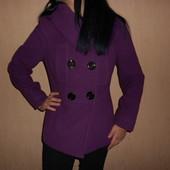 Пальто Италия 42-44 размер. Отличное. Кашемировое.