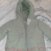 Куртка весна на 6-9мес