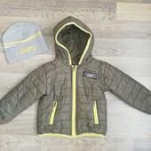 Деми курточка и шапка на 2-3 года