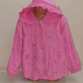 Куртка плащ на 4-5лет