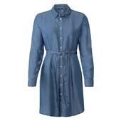 джинсовое платье-рубашка esmara в лоте без пояса. евро 42. Наш 46-48р. М-Л.