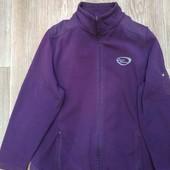 Флисовая кофта куртка большого размера