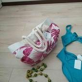 Шикарная пляжная и не только) сумка