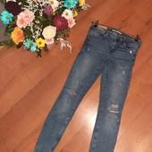 """крутецкие джинсы""""ZARA""""(смотрите  фото и описание"""