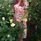 летнее легкое платье 46-48 размер