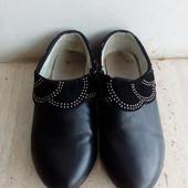 Туфли для девочки 21 см стелька