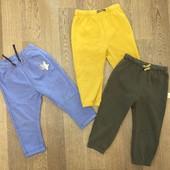 Трое отличных штанишек в одном лоте! Рост 86-92