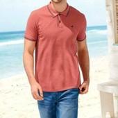 Отличная футболка поло Livergy Германия размер M (48/50) - небольшой дефект
