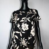 Качество! Красивая блуза/фактурный принт от F&F, в новом состоянии