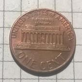 Монета США 1 цент 1981