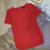 красивая лёгкая блуза с коротким рукавом F&F размер ХС-С