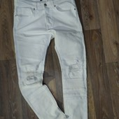 Фирменные джинсы рванки Zara