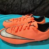 Яркие бутсы, копочки Nike Mercurial, разм. 36 (23 см по бирке). Сост. очень хорошее!