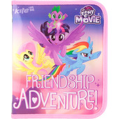 Папка об'ємна на блискавці, В5 Kite «My Little Pony»