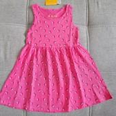 Блиц-цена! Классный сарафан платье от YoungStyle! На 3-4 года, рост 98-104! Замеры! хлопок!