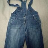 комбенизон джинсовый