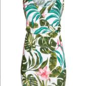 Яркое летнее платье хл.h&m.