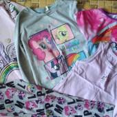 Одним лотом пакет одежды на 6-7лет My Little Pony❤️ Смотрим и другие лоты