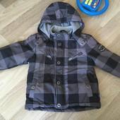 Весенняя куртка и флисовая кофта поддева