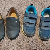 Одним лотом! Туфли кожаные, 31 размер, кроссовки 32 р
