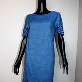 Качество! Натуральное платье/перфорация от Next в новом состоянии