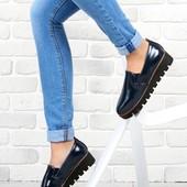 Vices _Польша!слипоны туфли лоферы, качество! кожаная стелька .Дорогие!