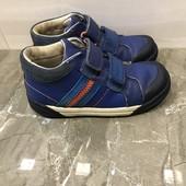 Кожаные деми ботинки Clarks, размер 29,5, стелька 19,5см.