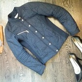 Синяя стильная курточка xs