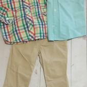 Супер лот! Штаны и 2 пары рубашек в идеале