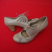 Туфли Clarks натур кожа 36-37 размер