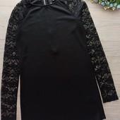 Маленькое чёрное платье рр S. Хорошее состояние