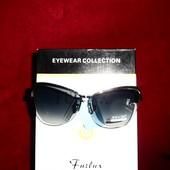 Стильные полуоправные солнцезащитные очки, UV 400