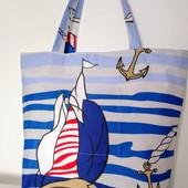 Для покупок! Для прогулок! Стильная удобная сумка!