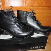 Ботиночки демисезонные 39 р Mariposa