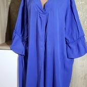 Собираем лоты!!! Платье жатка, красивого цвета, размер 48,100%вискоза