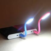 Гибкая usb лампа, подсветка для ноутбука, usb фонарик.1шт.