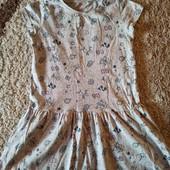 Платье Cool club 134, состояние хорошее!