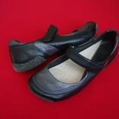 Балетки туфли Clarks натур кожа 38 размер