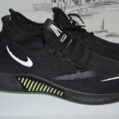 Легенькі чоловічі кросівки 42-44 розміру.