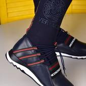 Подрастковые кроссовки с носочком. Бомбезная модель!