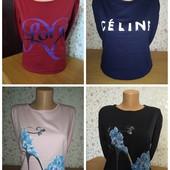 Женская футболка с длинным рукавом, лонгслив, кофта, реглан, Турция, Батал