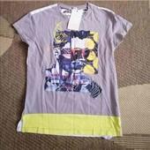футболка новая 134, 140 р