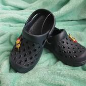 Детские кроксы. Сабо. Летняя обувь, 2 модели. Клоги, размер 27-18,5см