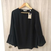 Классическая блуза с рукавами воланами от Tchibo(Германия), наши размеры: 44-46 (38 евро)